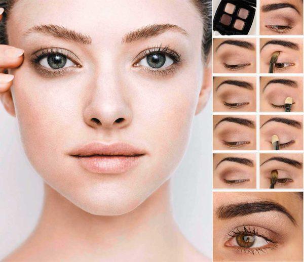 Как красить глаза тенями поэтапно: пошаговая инструкция для начинающих