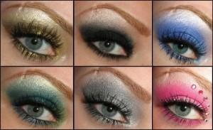 восточный макияж для серых глаз