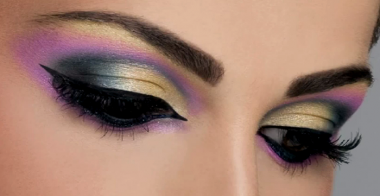 арабский макияж глаз