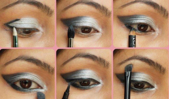 Как правильно красить большие глаза