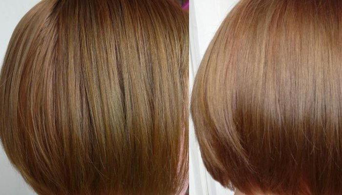 Тонирование фото до и после