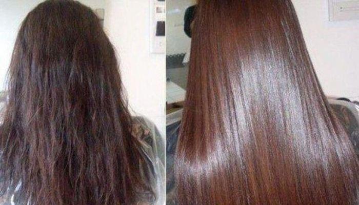 Тонирование  для блеска волос