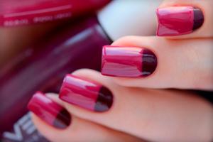 Как правильно пользоваться трафаретом для ногтей