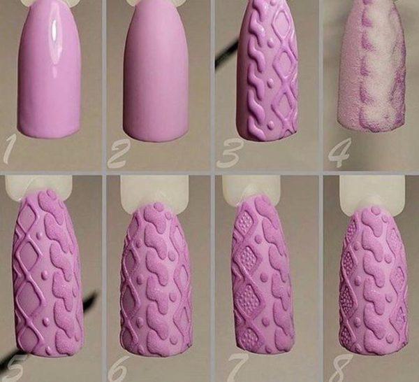 Как пользоваться акриловой пудрой при создании маникюра