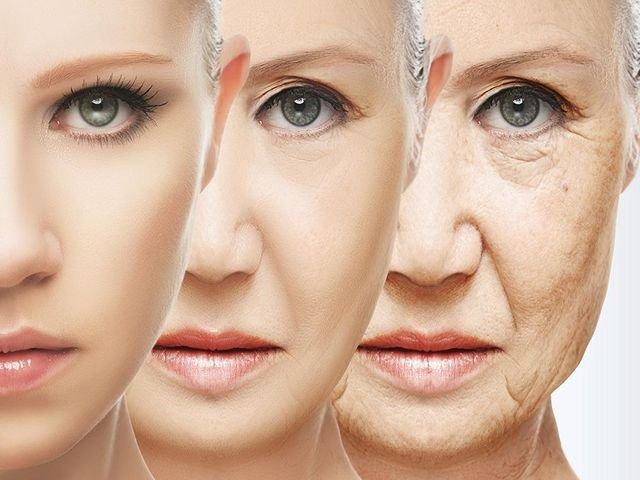 старение кожи лица