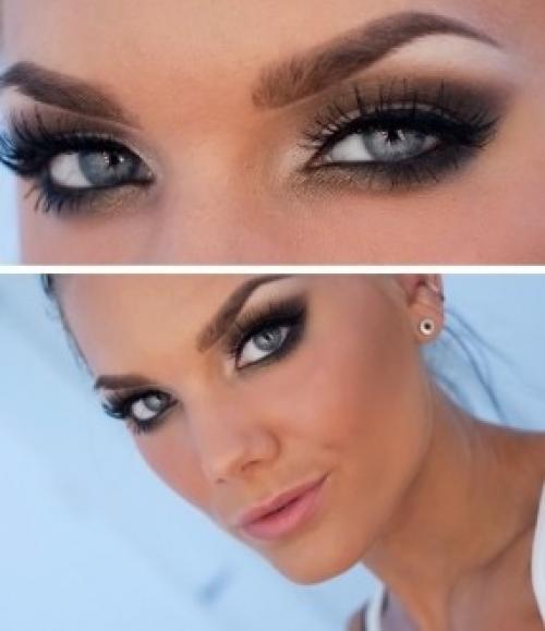 Как сделать цвет глаз насыщеннее. Косметика