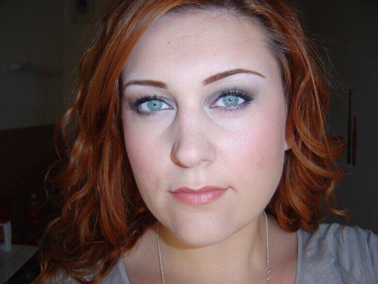 повседневный мэйкап для голубых глаз