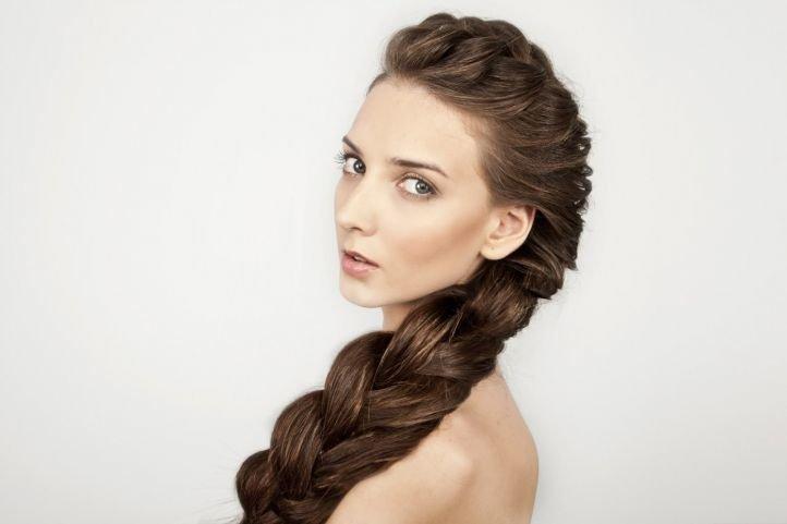 Прическа из косичек - французская коса