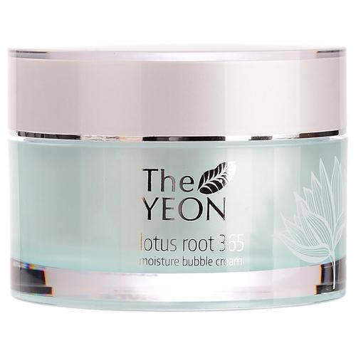 The yeon Lotus Roots 365 Moisture Bubble Cream Увлажняющий крем для лица с корнем лотоса