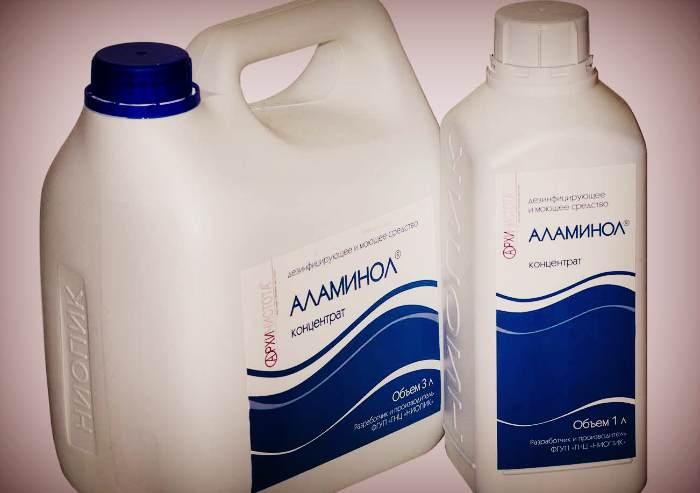 Аламинол для дезинфекции инструментов