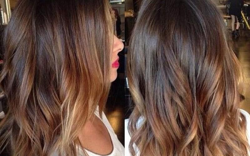 покраска волос балаяж фото