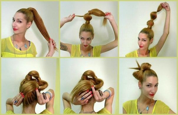 Бантик из волос в пошаговой инструкции 4 способ создания на голове