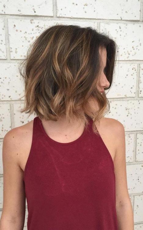 Стрижка каре на вьющиеся волосы