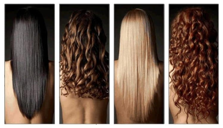 Типы волос: уход за волосами