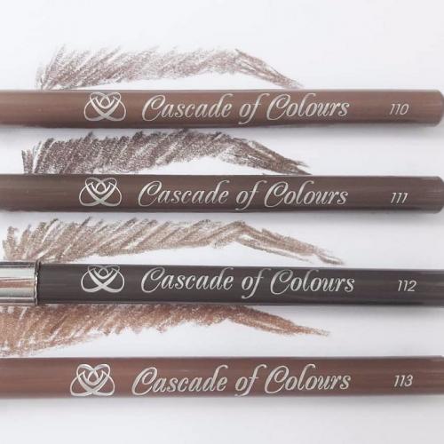 Как правильно красить брови. Выбор цвета карандаша для бровей: оптимальные оттенки