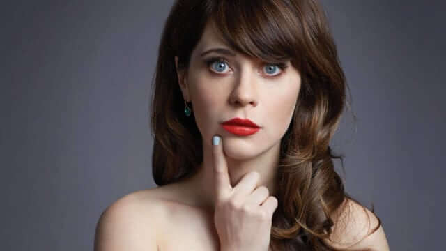 Zooey Deschanel Зоуи Дешанель цитата про маникюр