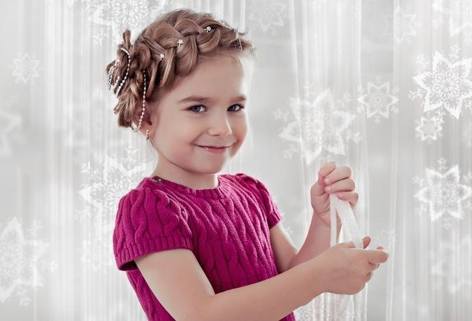 Детские прически своими руками