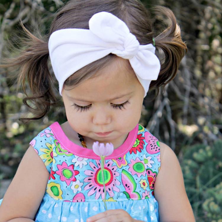 Девочка-ободки-милый-кролик-уши-бант-ленты-для-волос-детские-ткани-повязка-на-голову-дутый-головные