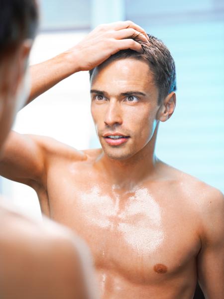 Увлажнение мужской кожи
