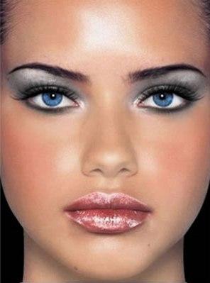 макияж для серо-голубых глаз стальная леди