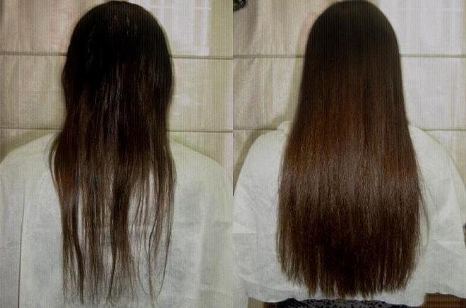 волосы девушки отзыва №2