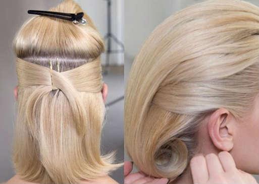 Быстрые прически на короткие волосы пошагово