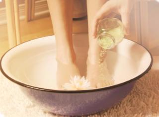 Горчичная ванночка для ног