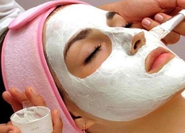 маски из белой глины
