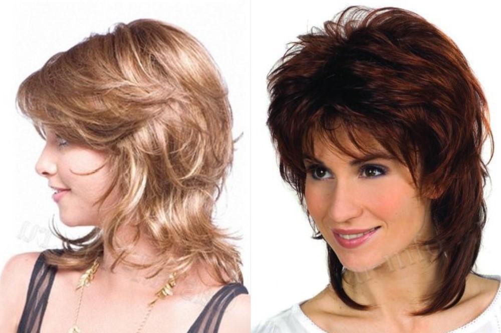 Женская стрижка волос 45 летней женщине 2020