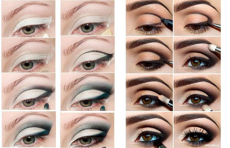 макияж для фотосессии пошагово