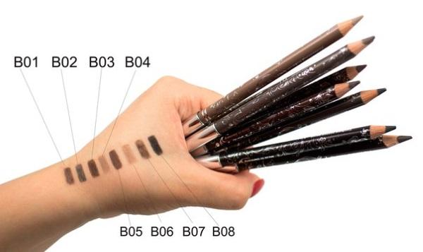 Как правильно накрасить брови карандашом. Инструкция с фото и видео