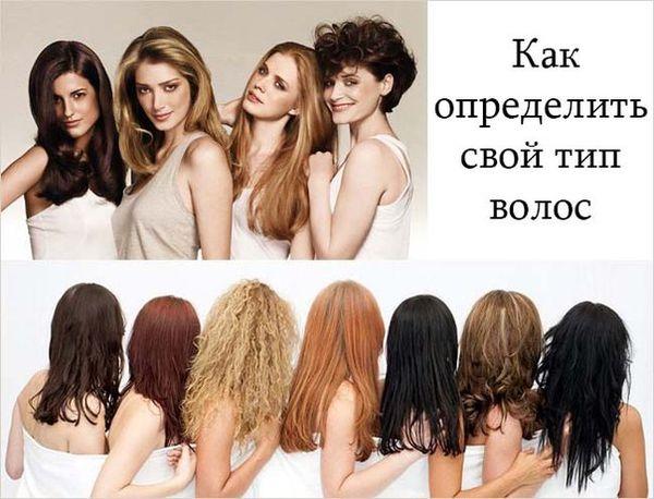 Как узнать свой тип волос самостоятельно в домашних условиях