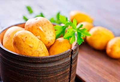 Польза картофеля для лица