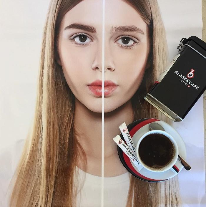 Брови кофем