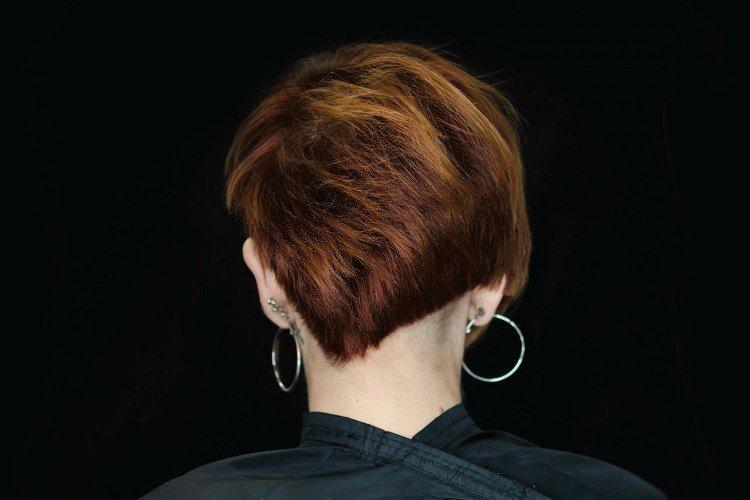 Асимметричная стрижка - Короткие стрижки для женщин после 50