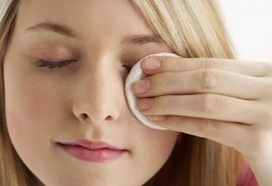 Обработать кожу после коррекции
