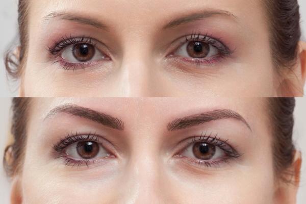 Коррекция перманентного макияжа бровей. Как происходит заживление, уход