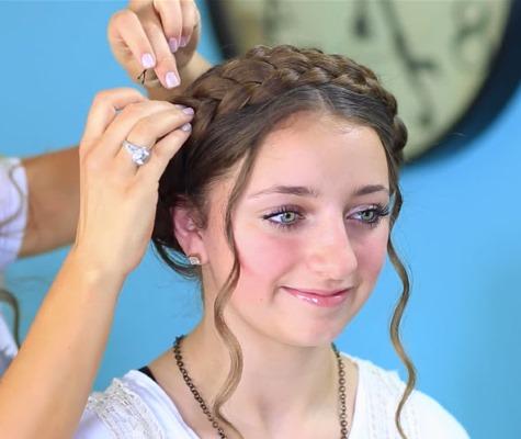 коса доярки
