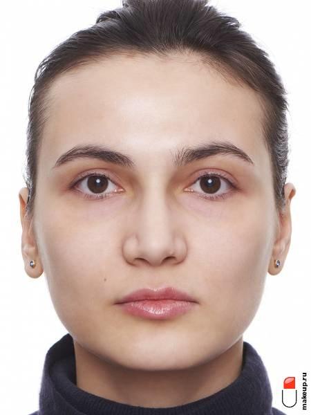 макияж для каштановых волос и карих глаз