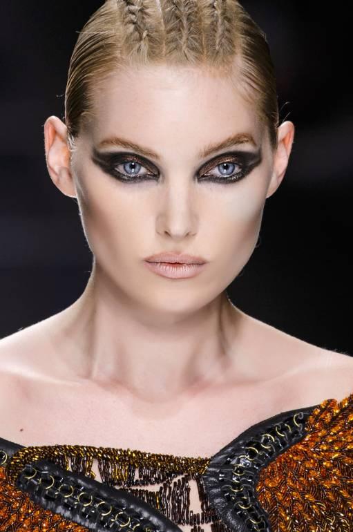 арабский макияж голубые глаза