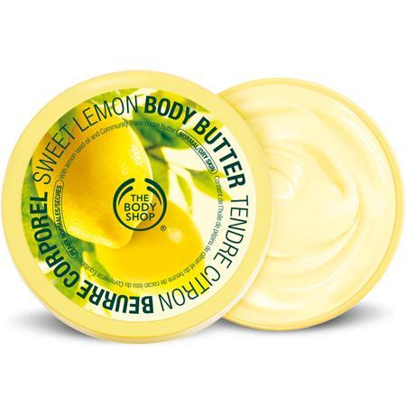 Рейтинг лучших натуральных бальзамов для губ - Sweet Lemon The Body Shop