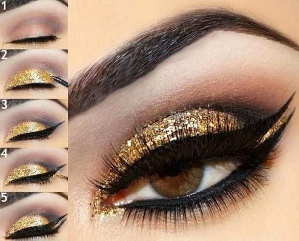 Макияж для карих глаз на каждый день, вечерний для светлых и темных волос. Фото, инструкция