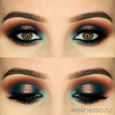 Романтические глаза