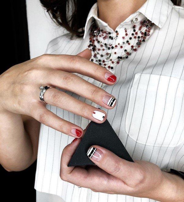 Модный френч в изумительных примерах. Фото подборка искусного французского дизайн маникюра