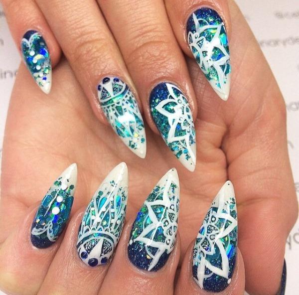 Маникюр на миндалевидные ногти 2020: лучшие идеи. Дизайн на весну, лето, осень, зиму