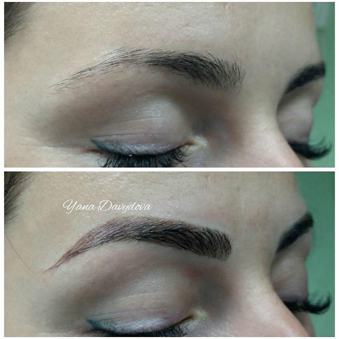 Мануальный макияж