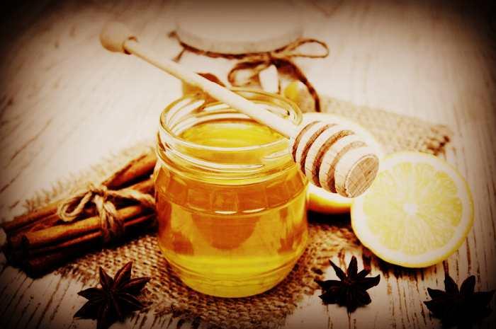 Маска для волос мёд, корица, лимон