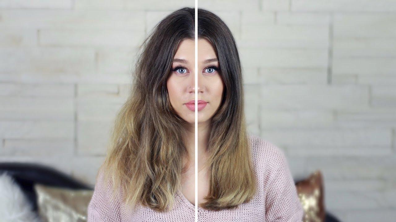 Преимущества выпрямления волос без утюжка