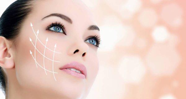 Действие молекул пептид на кожу