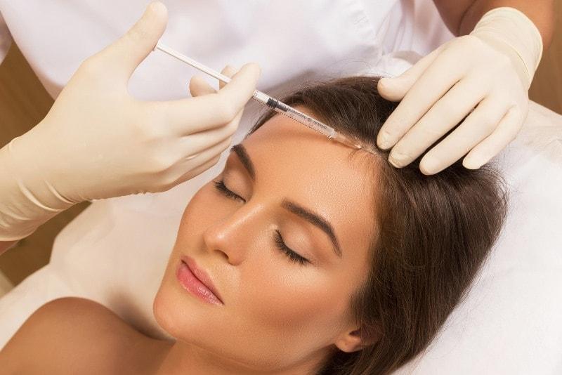 Мезотерапия для волосистой части головы